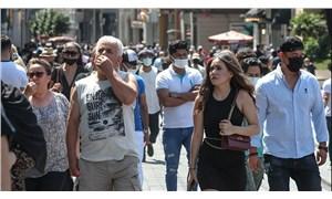 İstiklal Caddesi'nde maske kuralı rafa kalktı