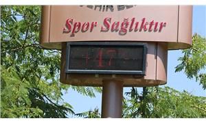 Adana 47 dereceyi gördü