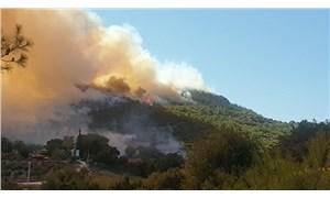 Osmaniye'de orman yangını: Köylüler tahliye edildi