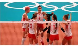 A Milli Kadın Voleybol Takımı ABD'ye 3-2 mağlup oldu