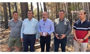 CHP'li Öztunç'tan Erdoğan'a: Millet çay değil, yangın söndürme uçağı istiyor