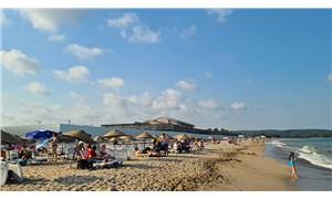 Eşsiz plajda otel şantiyesi