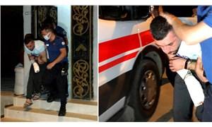 Adana'da eşini ve çocuklarını darp eden erkek, kapısı kırılarak girilen evde yakalandı
