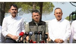 Bakanlar; Kurum, Çavuşoğlu ve Karaismailoğlu yangınların Antalya'daki bilançosunu açıkladı