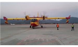 İspanya Büyükelçiliği: İki uçağımız bir günde 260 bin ton su attı