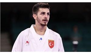 2020 Tokyo Olimpiyat Oyunları'nda Eray Şamdan'dan karatede gümüş madalya