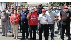 Karaburun'da belediye çalışanları darp edildi
