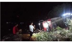 Marmaris'te yangına müdahale eden orman işçileri kaza yaptı: 4 yaralı