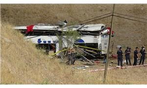 Balıkesir'de yolcu otobüsü devrildi: 15 ölü, 17 yaralı