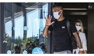 Alex Teixeira, Beşiktaş için İstanbul'a geldi