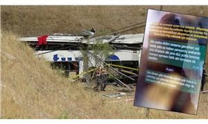 Balıkesir'deki otobüs faciası öncesi şoförün yakınlarına aracın arızalı olduğu mesajı attığı iddiası