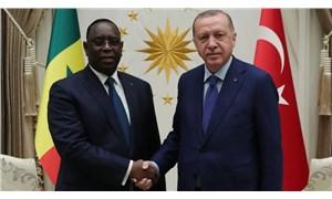 Erdoğan, Senegal Cumhurbaşkanı ile görüştü