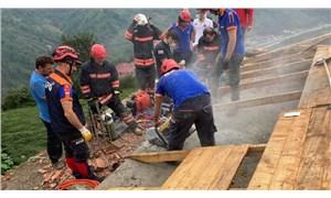 Trabzon'da bir inşaata yıldırım düştü: 1 ölü, 1 yaralı
