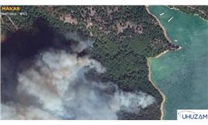 Akdeniz ve Ege'deki orman yangınları uzaydan görüntülendi: 85 bin futbol sahası büyüklüğünde alan yandı