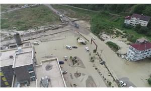 Sinop'ta selin hasarı gün ağarınca ortaya çıktı