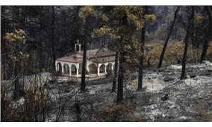 Yunanistan'da yangın sürüyor: 750 bin dönüm ormanlık alan ve tarım arazisi kül oldu