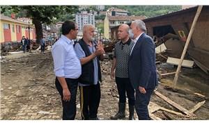 İklim Araştırma Komisyonu'nun CHP'li üyeleri Bozkurt'ta: Felaketin nedenlerini anlattılar