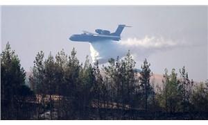 Maraş'ta yangın söndürme uçağı düştü