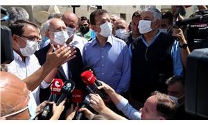 Kılıçdaroğlu ve İmamoğlu sel felaketinin yaşandığı Bozkurt'ta: 2019 yılında sel, taşkın raporu hazırlanmış
