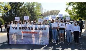 DEÜ öğrencilerinden rant kontenjanına karşı eylem