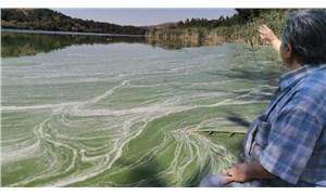 Eymir Gölü de kirlendi: Müsilaja benzetilen görüntü tedirgin ediyor