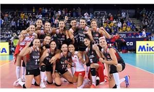 A Milli Kadın Voleybol Takımı, Ukrayna'yı 3-0 mağlup etti