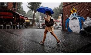 Meteoroloji'den birçok bölge için sağanak uyarısı