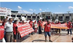 Neo Trend Tekstil fabrikasında işten çıkarılan işçiler: Kazım Akbulut kaçma, emekçinin hakkını öde