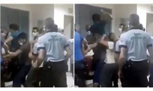 'Enjeksiyon sırasında çocuğun kolunu acıttı' diyerek hemşireyi darp ettiler