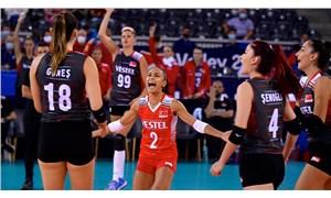 Türkiye A Milli Kadın Voleybol Takımı, Avrupa Şampiyonası'nda 5'te 5 yaptı!