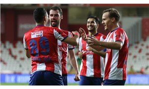5 gollü karşılaşmada kazanan Antalyaspor