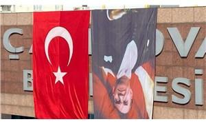 AKP'li belediye, Atatürk fotoğrafını ters astı