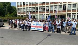 Eskişehir KESK'ten kamu emekçilerine dayatılan sefalet zammına protesto