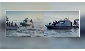 Sahil güvenlik, bir balıkçı teknesine çarpıp batmasına neden oldu: Yurttaşlar tepki gösterdi