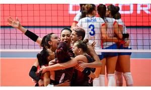 A Milli Kadın Voleybol Takımı, Avrupa Şampiyonası'nda çeyrek finalde