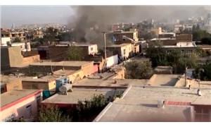 Kabil'de bir eve roket isabet etti