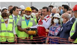 İmamoğlu, yeni metro hattının ilk harcını attı
