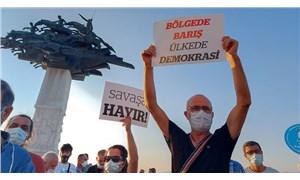 İzmir'den barış çağrısı: Savaş politikaları kaybedecek