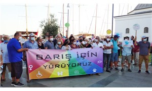 Bodrum'da Dünya Barış Günü yürüyüşüne polis engeli
