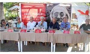 Gazeteci yazar Erbil Tuşalp İzmir'de anıldı