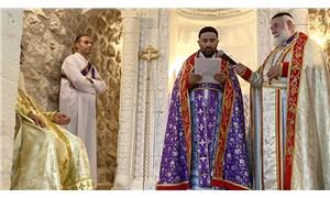 Midyat'ta Süryani cemaati 30 yıl sonra papaz töreni gerçekleştirdi