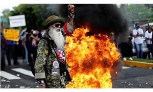 El Salvador'da 'Bitcoin' protestosu
