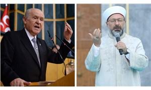 Bahçeli, Ali Erbaş'a destek verdi; laiklik talebini hedef aldı