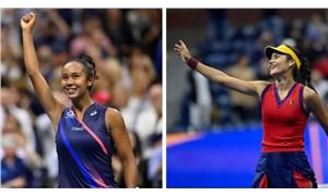 Tarihe geçtiler: ABD Açık'ta Raducanu-Fernandez finali