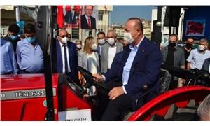 Dışişleri Bakanı Çavuşoğlu, çiftçilere traktör dağıtım töreninde konuştu