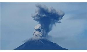 Popocatepetl Yanardağı'nda patlama