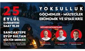 SOL Parti, EMEP ve TKP'den 'Yoksulluk, Göçmenler, Ekonomik ve Siyasi Kriz' etkinliği