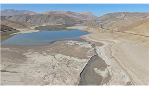Kuraklık: Zernek Barajı'ndaki su seviyesi son yılların en düşük seviyesinde