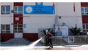 Ödemiş'te bir okulun 11 sınıfı karantinaya alındı