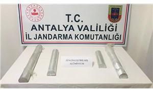 Antalya'da zenginleştirilmiş saf alüminyum satmaya çalışan 4 kişi tutuklandı